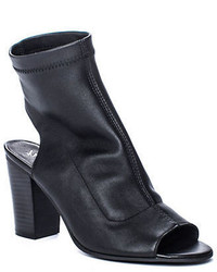 Matisse Agent Cutout Leather Ankle Boots