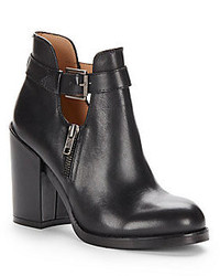 Ash Floyd Leather Ankle Boots