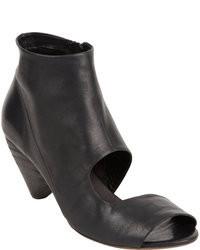 Marsèll Asymmetric Cutout Ankle Boot