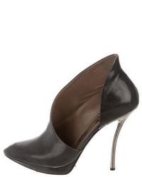 Lanvin Cutout Ankle Boots