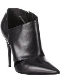Narciso Rodriguez Cutout Carolyn Ankle Boots Black