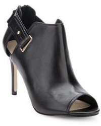 Cole Haan District Leather Peep Toe Ankle Boots