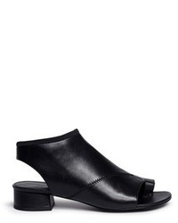3.1 Phillip Lim Drum Cutout Leather Sandal Booties