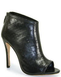 Alice + Olivia Gerri Punched Leather Bootie