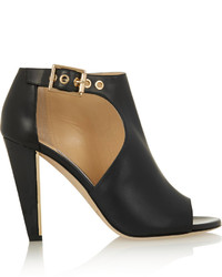 Jimmy Choo Hasten Cutout Leather Ankle Boots