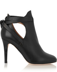 4ce489a0606 Jimmy Choo Lorna 85 Cutout Embellished Leather Ankle Boots Black Out of  stock · Jimmy Choo Marina Cutout Leather Ankle Boots Black