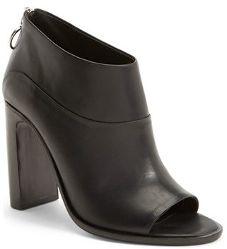outlet visit outlet low price Rag & Bone Leather Peep-Toe Ankle Boots 2015 online buy cheap best store to get DwweAPpSYY