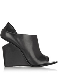 Alexander Wang Sold Out Alla Leather Wedge Ankle Boots