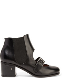 Laurence Dacade Sold Out Iggy Cutout Leather Ankle Boots
