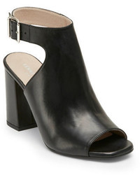 Kenneth Cole New York Tai Leather Cutout Ankle Boots
