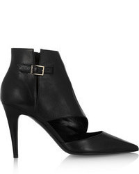 Tamara Mellon Madness Cutout Leather Ankle Boots