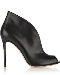 Vamp 105 leather ankle boots black medium 661568