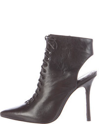 Alice + Olivia Dominica Leather Ankle Boots