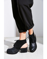 Urban Outfitters Shellys London Cutout Lace Up Bootie