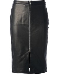 Muu Baa Muubaa Leather Pencil Skirt
