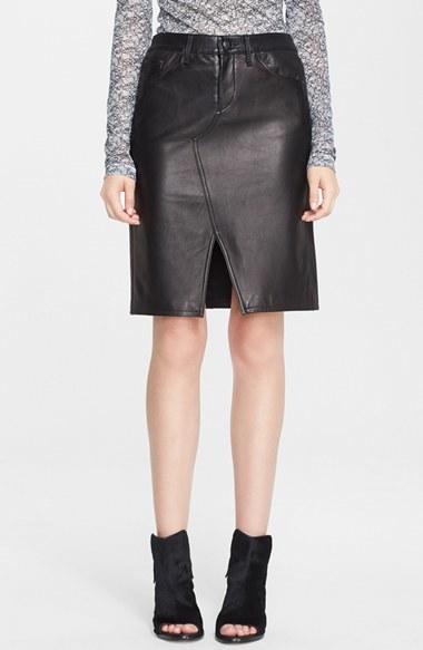 rag and bone rag bone ta leather skirt where to buy