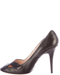 Givenchy Cutout Leather Pumps