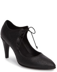 Ecco Shape 75 Lace Up Mary Jane Pump