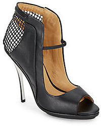 L.A.M.B. Skylar Cutout Leather Pumpsblack