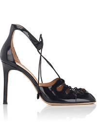 The Row Leather Apron Toe Pumps