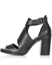 PeepToe Gambas Cut Out Shoes