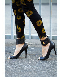 Forever 21 Rebel Peep Toe Pumps