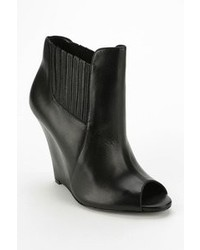 Schutz Peep Toe Wedge Ankle Boot