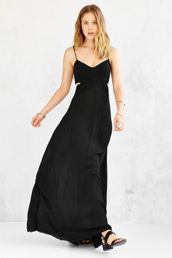 86814c4b323 ... Urban Outfitters Ecote Shipwreck Cutout Maxi Dress ...