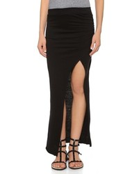 Maxi skirt with slit medium 200784