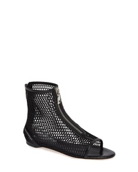 Givenchy Rivington Open Toe Mesh Bootie