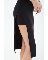 Pencil Skirt With Slit - Dress Ala