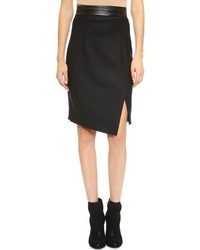 Milly Slit Pencil Skirt