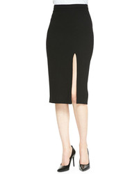 Tonne pencil skirt with front slit medium 101514