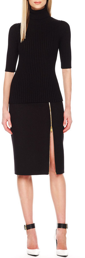 Vince Zip Hem Pencil Skirt Black | Where to buy & how to wear