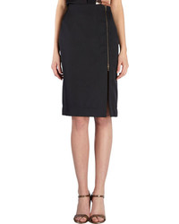 Lanvin Zip Slit Pencil Skirt