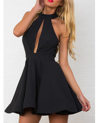 Entrapt skater dress in black medium 109027