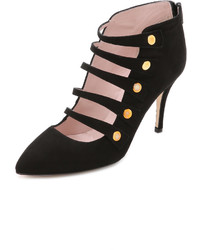 Kate Spade New York Navia Suede Cutout Pumps
