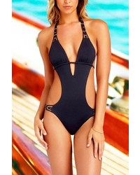 Vitamin A Amber Beaded Maillot