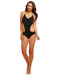 Roxy Girls Just Wanna Have Fun V Neck Monokini
