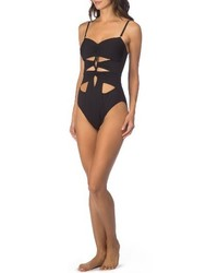 Kenneth Cole New York Kenneth Cole Cutout One Piece Swimsuit