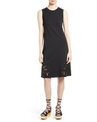 See by Chloe Embroidered Cutout Tank Dress