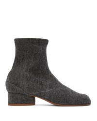 Maison Margiela Black Denim I Boots