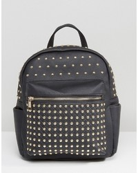 Missguided Metal Stud Backpack