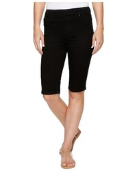 Tribal Pull On 13 Bermuda Dream Jeans In Black Shorts
