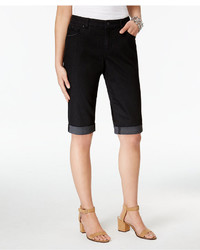 Style&co. Style Co Cuffed Bermuda Shorts Only At Macys