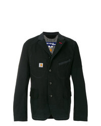 Black Denim Blazer