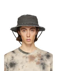 Diesel Red Tag Black A Cold Wall Edition Denim Bucket Hat