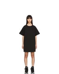 MM6 MAISON MARGIELA Black Denim T Shirt Dress