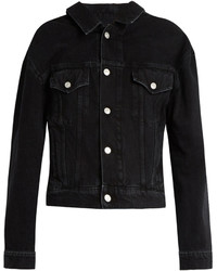 Black denim jacket original 1372443