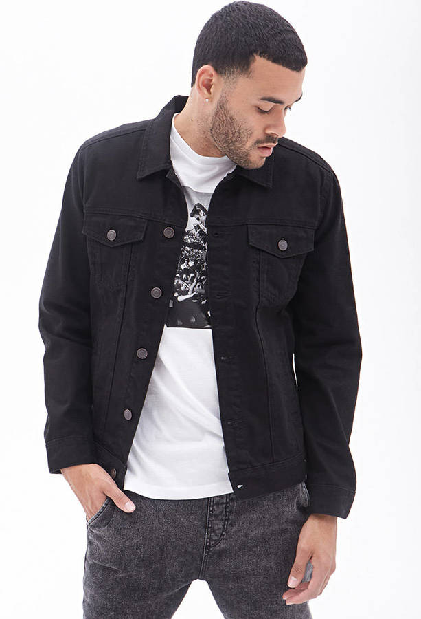 21men 21 Clean Wash Denim Jacket | Where to buy & how to wear